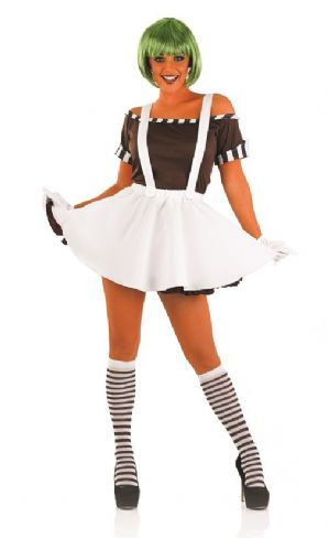 Sexy Factory Worker Dress- Oompa Loompa (3700)